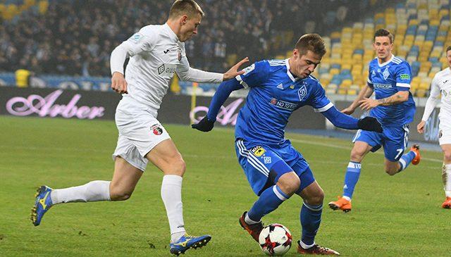 УПЛ: «Динамо» минимально обыгрывает «Верес»