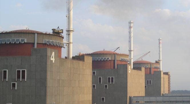 На Запорожской АЭС отключили энергоблок №4