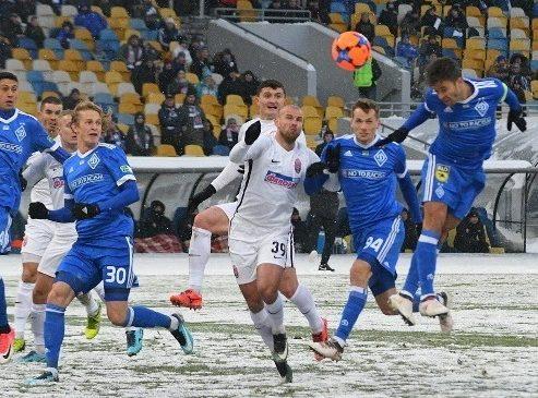 УПЛ: «Динамо» в драматичном матче обыгрывает «Зарю»