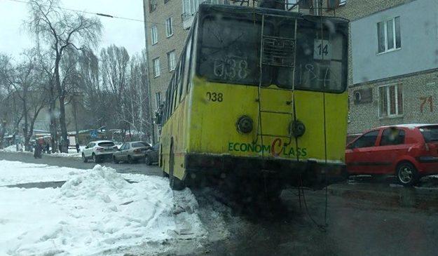 За день в Запорожье сломались 11 троллейбусов