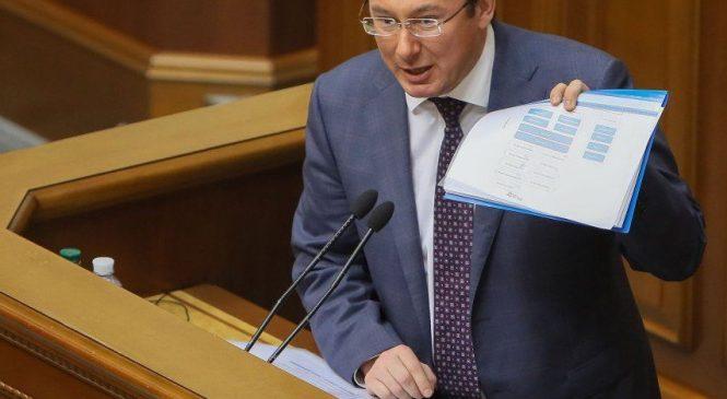 Луценко: Савченко готовила террористический акт в сессионном зале Верховной Рады