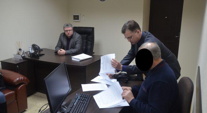 В Запорожской области прокурор вручил уведомление о подозрении в получении взятки председателю Новониколаевского райсовета, — ФОТО