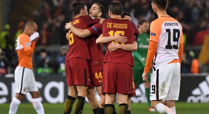 «Шахтер» проигрывает в Риме и покидает Лигу Чемпионов