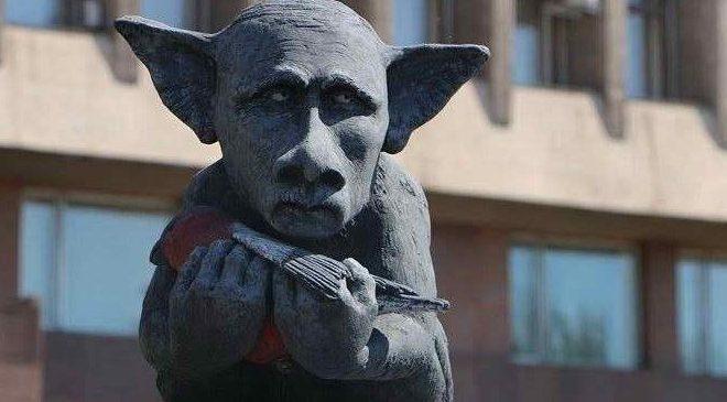 В Запорожье поставят памятник Путину, — ФОТО