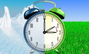 Украина переводит часы. Переходим на летнее время