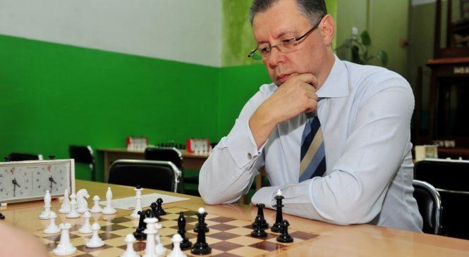 Геннадия Фукса снова избрали президентом Запорожской областной федерации шахмат