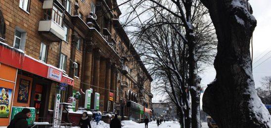 В Запорожье пришла зима: в течение недели ожидается снег и мороз
