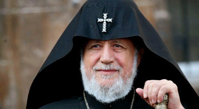 В Украину прибыл Католикос всех армян Гарегин II