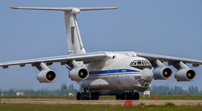 В Мелитополе среди бела дня разворовали на запчасти четыре ИЛ-76