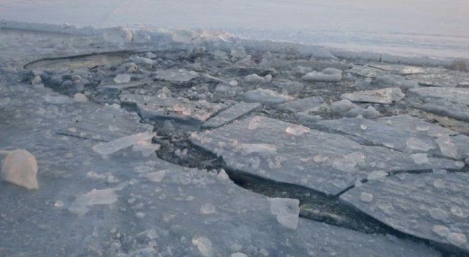 На Запорожье погиб мужчина, провалившись под лед