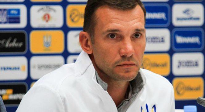 Шевченко объявил состав сборной на матчи против Японии и Саудовской Аравии
