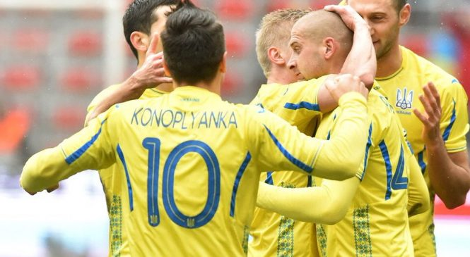 Украина обыграла Японию в товарищеском матче