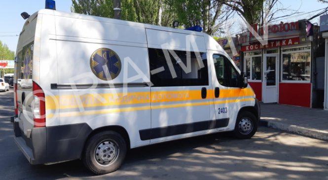 В Запорожской области на улице у мужчины открылось внутреннее кровотечение