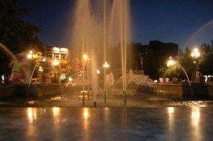 В Бердянске 1 мая запустят фонтаны