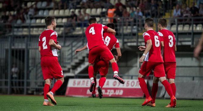 Запорожский «Металлург» выиграл первый матч четвертьфинала кубка любительских команд