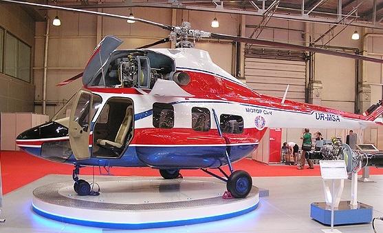 В Запорожье «Мотор Сич» испытает новый украинский вертолет