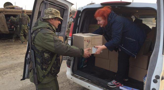 Пасхальные подарки от запорожцев — защитникам Украины
