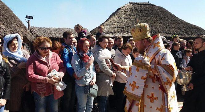 В Запорожье провели «Пасху на Хортице» – ФОТОРЕПОРТАЖ