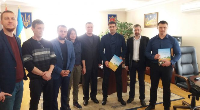 Запорожские ветераны АТО провели рабочую встречу с начальником полиции Олегом Золотоношей