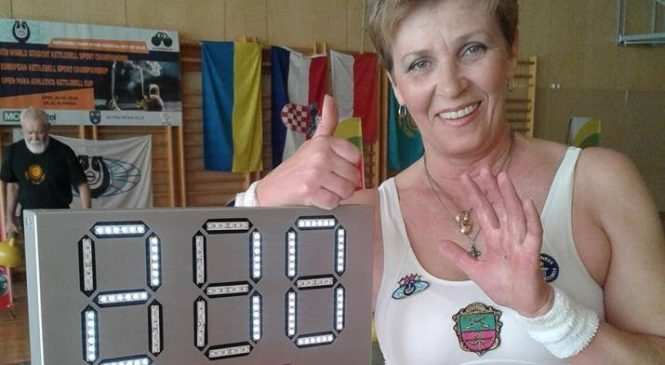 Запорожская спортсменка в восьмой раз стала чемпионкой Европы