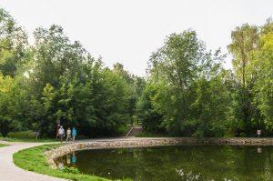 В Запорожском парке поселились интересные жители (Фото)