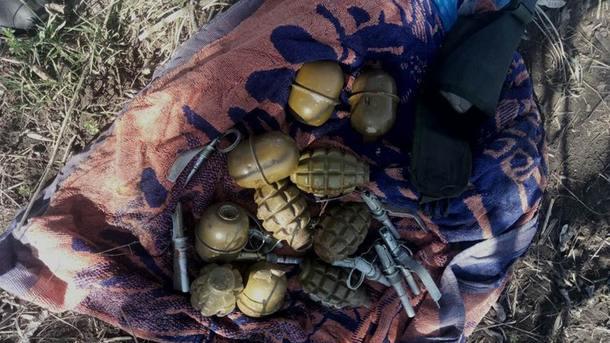 В Запорожской области обнаружена партия гранат