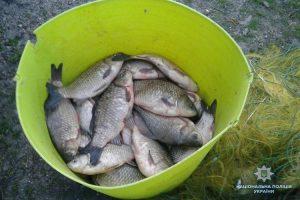 Под Запорожьем любителей незаконной рыбалки застали врасплох