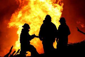 В Запорожье по неустановленным причинам горело две дачи
