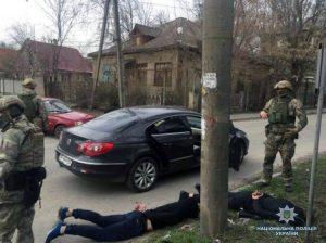 Полиция Запорожья задержала банду вымогателей