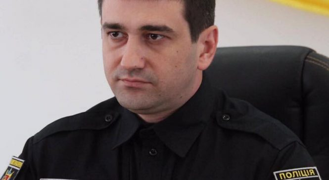 Олег Золотоноша попрощался с коллективом ГУ Нацполиции в Запорожской области