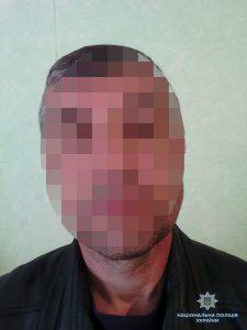 Под Запорожьем полиция задержала убийцу, когда тот бежал с места преступления