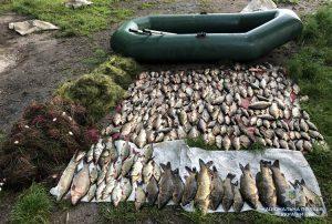 В Запорожской области браконьерский улов потянул на 11 тыс.гривен: злоумышленник задержан (фото)