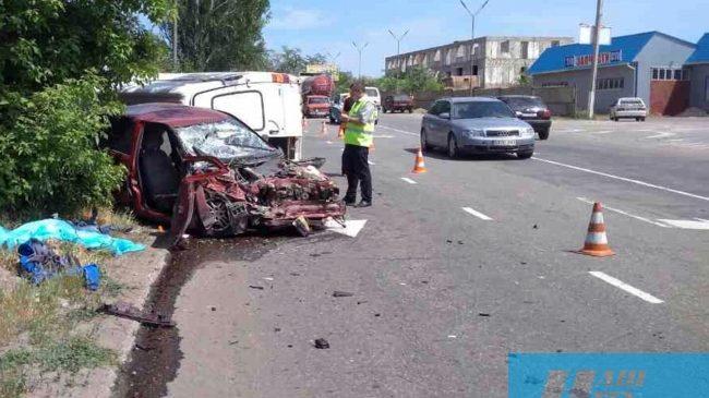 Серьезное ДТП в Запорожской области: водитель скончался на месте (Фото)