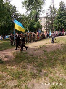 В Запорожье прошли детские козацкие соревнования