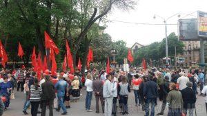 9 мая проходит в Запорожье в целом спокойно