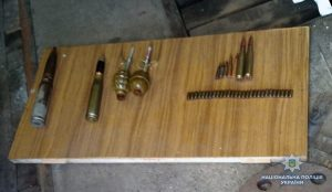 В Запорожской области у мужчины из квартиры изъяли склад боеприпасов