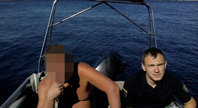 В Запорожье правоохранители спасли отдыхающего (Фото)