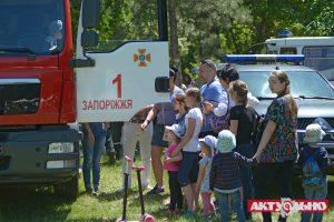 Локация ГСЧС в Дубовке привела детей в восторг
