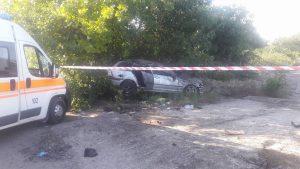 В Запорожье полиция разыскивает свидетелей страшного ДТП на Набережной, в котором погибли мать с ребенком