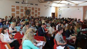 В Запорожье проходит форум молодых педагогов (Фото)