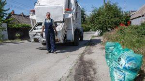 Из-за дополнительного объема мусора в частных секторах Запорожья «Вельтрум» предлагает новые виды услуг