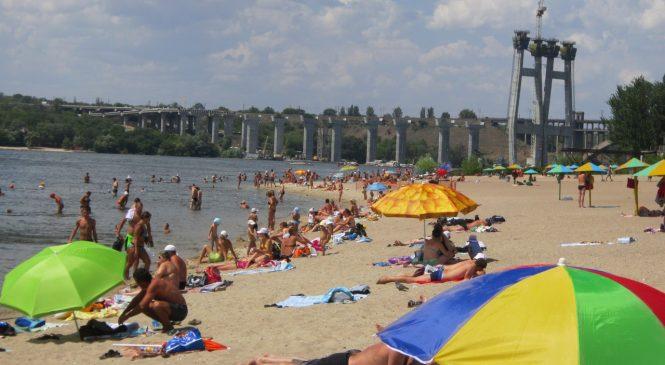 В нескольких пляжах Запорожья обнаружены отклонения воды