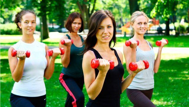 В Запорожской области проходят бесплатные занятия по фитнесу