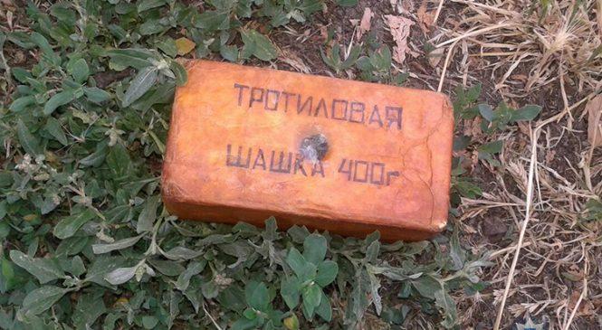 В Запорожской области у мужчины изъяли 400 грамм взрывчатки