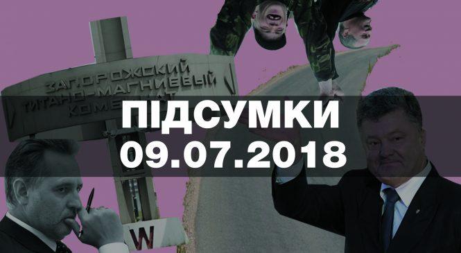 Кредит на дороги, саміт Україна-ЄС та умовний термін за напад на ветерана — підсумки понеділка, 9 липня