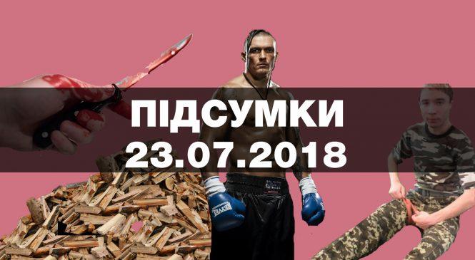 Тортури в ОРДЛО, суд над Павлом Грибом та міжнародна коміся у таборі «Вікторія» — підсумки понеділка, 23 липня