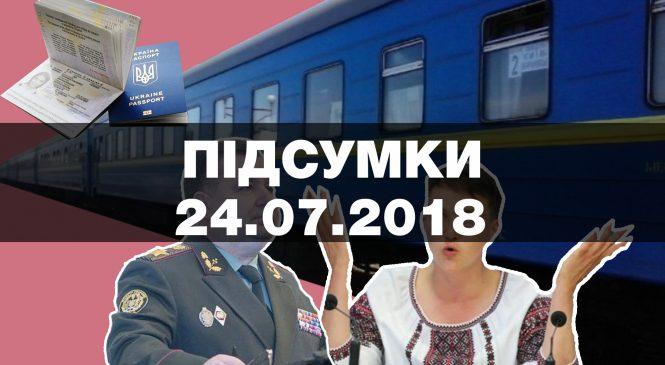 Аварія на залізниці, смерть від кору та звільнення від Міністра оборони — підсумки вівтора, 24 липня