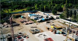 В сети появился видеоролик о строительстве запорожского аэропорта с высоты птичьего полета (Видео)