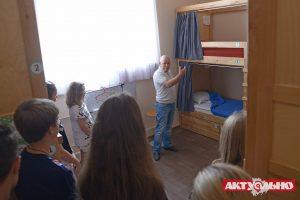 Запорожским школьникам рассказали, как стать предпринимателями в сфере гостеприимства