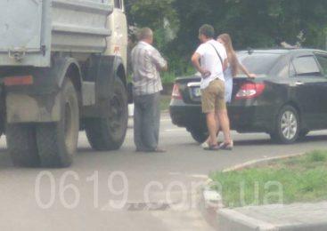 У Запорізькій області сталося ДТП за участю вантажівки та легковика